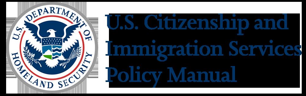 USCIS Policy Manual